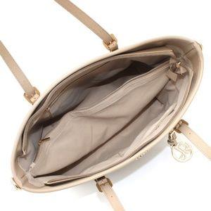 jorne Bags - Conceald Carry Double Pocket Fashion Saffiano Tote